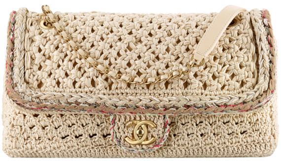 615aedd55f40 Chanel 2016 2017 Cruise Handbag Bag Season Collection. 66. Crochet flap ...