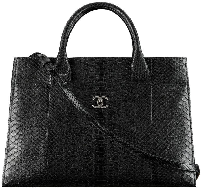 9a713e0458a6 Chanel 2016 2017 Cruise Handbag Bag Season Collection. 59. Python large  shopping ...