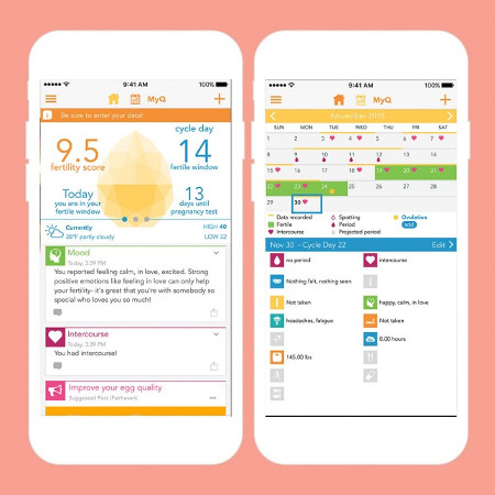 favorite fertility period app