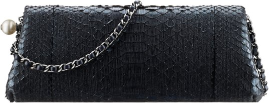 Chanel 2017 handbag bag collection season spring summer pre-collection  price size. 1. Navy python evening ... e0aa410788fab
