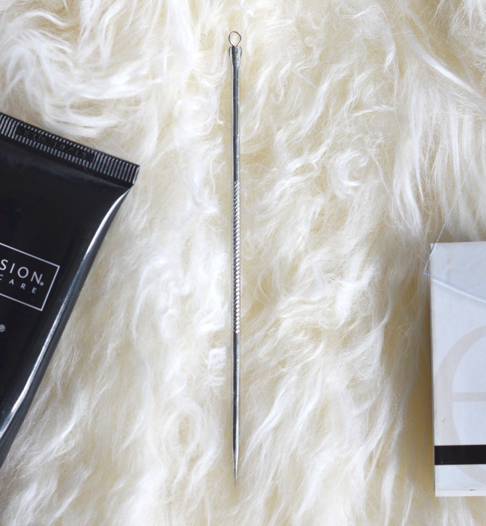 metal pimple needle blackhead beauty review