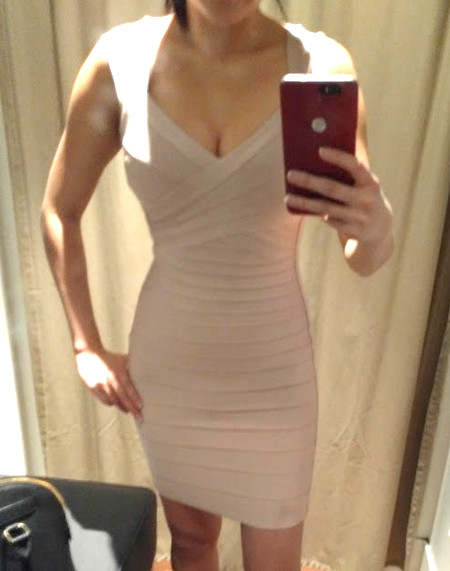 herve leger dress review