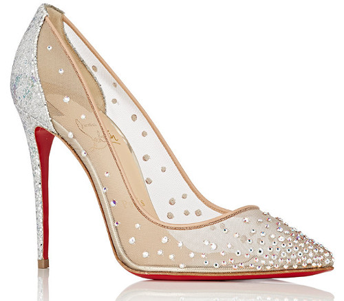 strass crystal glamorous wedding shoe
