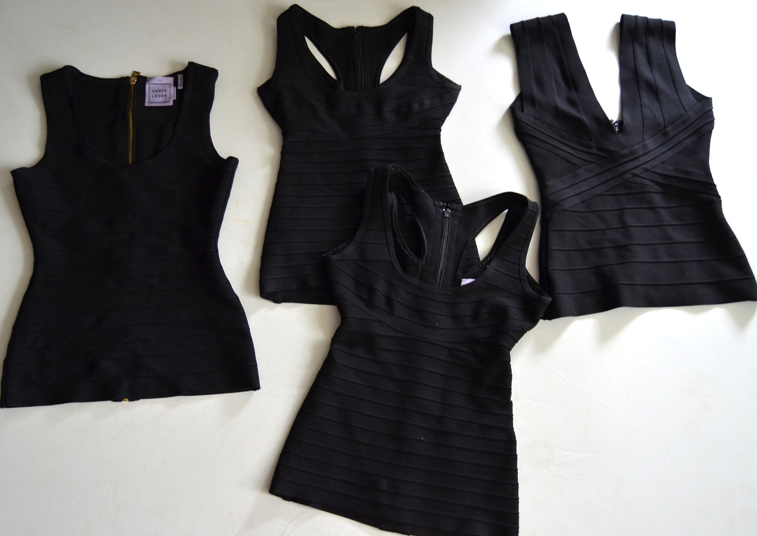 black essential must-have tight top wardrobe item