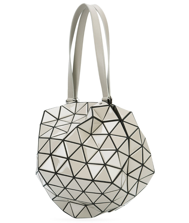 geometric structural architectural handbag