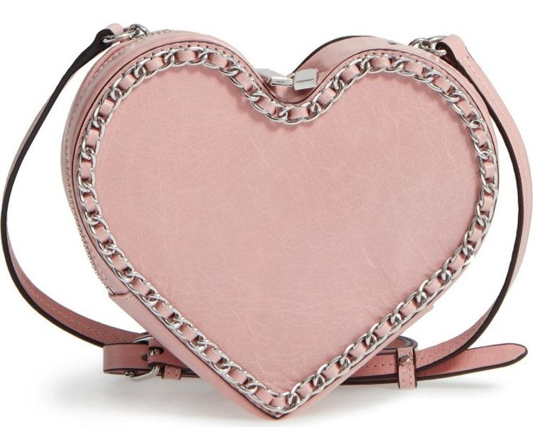 Cute adorable heart chain bag