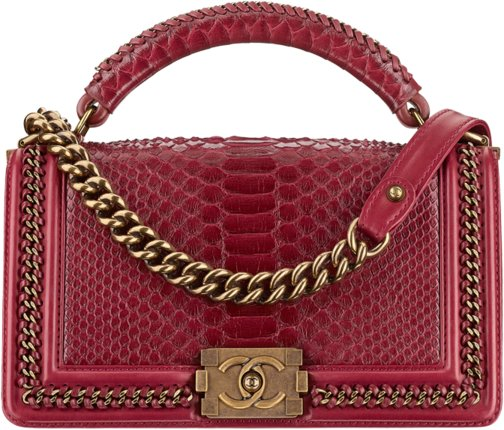 e9d07955444d Chanel Metiers D'art 2016 2017 Paris Cosmopolite handbag bag season  collection. 32. Python boy ...