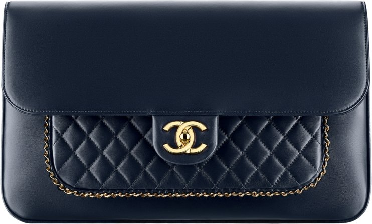 Chanel Metiers D art 2016 2017 Paris Cosmopolite handbag bag season  collection b0296a6bcfe38
