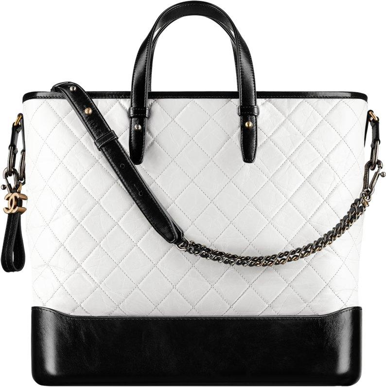4a894e84bdcf Chanel Fall Winter 2017 2018 collection season handbag bag. 91. Large  gabrielle shopping ...