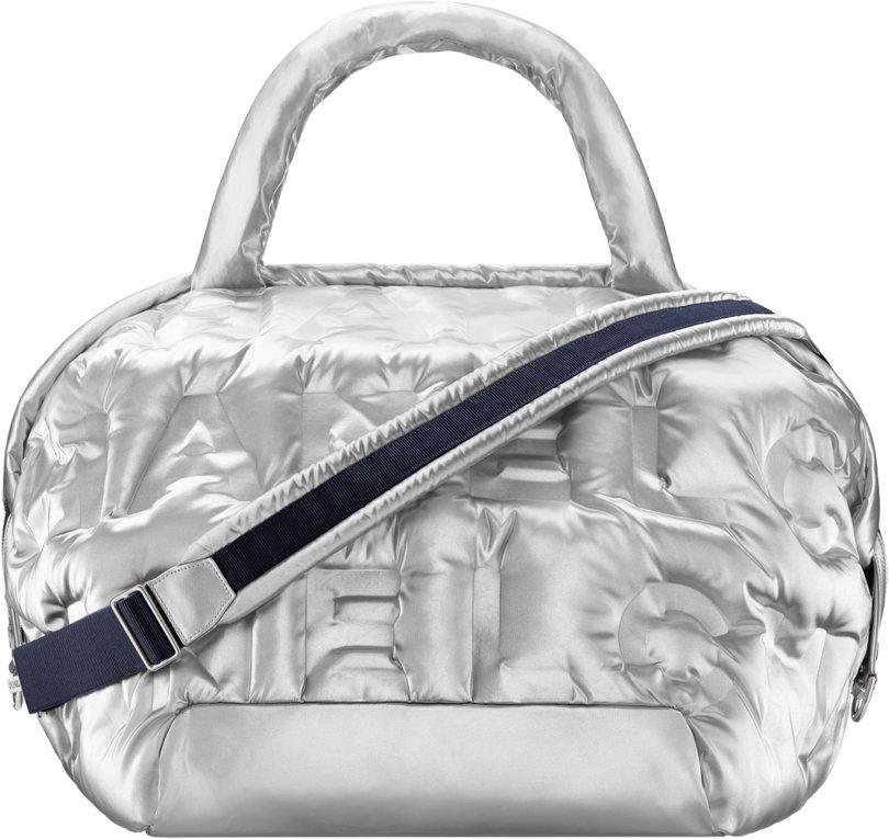 a4fea7433fde Chanel Fall Winter 2017 2018 collection season handbag bag. 12. Embossed  nylon ...