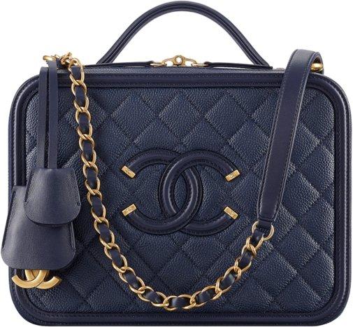 f3bf273f2d13 Chanel Fall Winter 2017 2018 collection season handbag bag