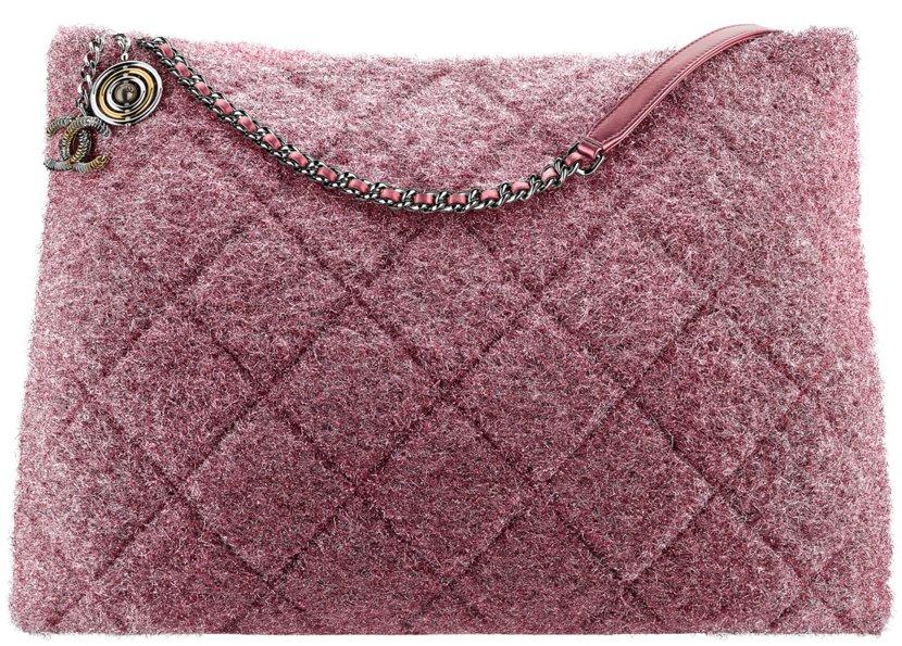 4e1b16341b13 Chanel Fall Winter 2017 2018 collection season handbag bag. 76. Large  shopping ...