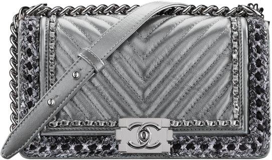 46303b4cc7e9 Chanel Fall Winter 2017 2018 collection season handbag bag