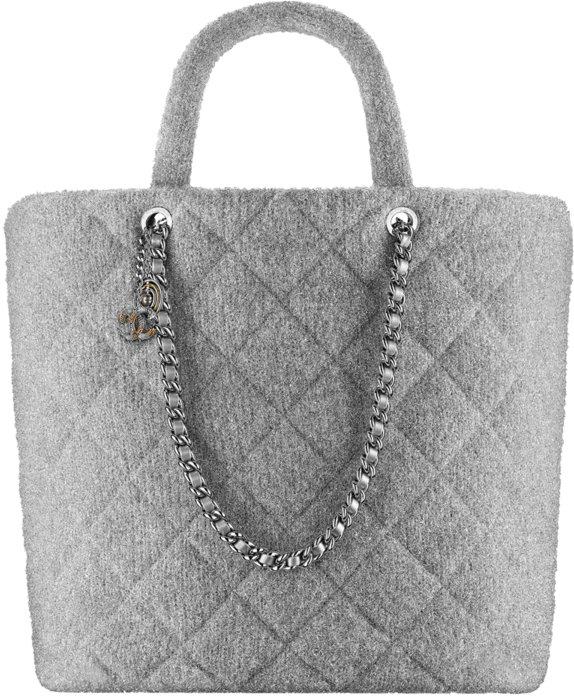 2ebc2fd48652 Chanel Fall Winter 2017 2018 collection season handbag bag. 3. Silver large  shopping ...
