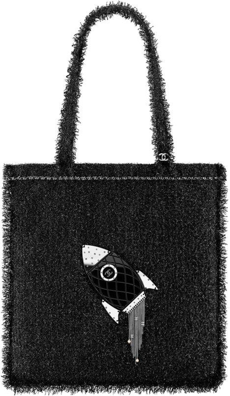 e168b8e3eabb Chanel Fall Winter 2017 2018 collection season handbag bag. 44. Large  shopping ...