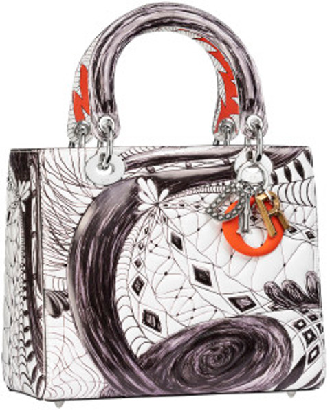 Christian Dior Lady Dior Art artist bag 2017