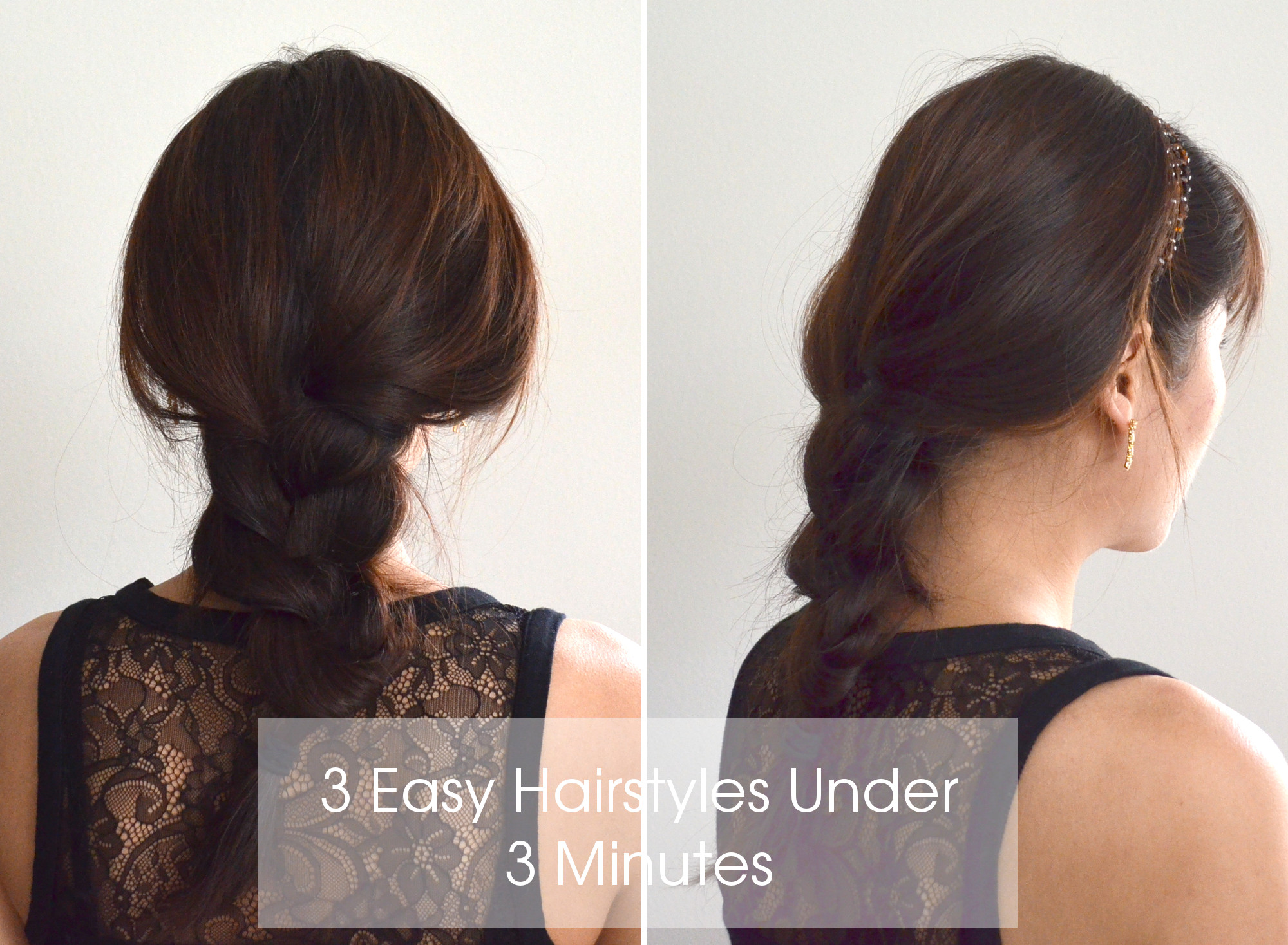 simple everyday hairstyle for long hair