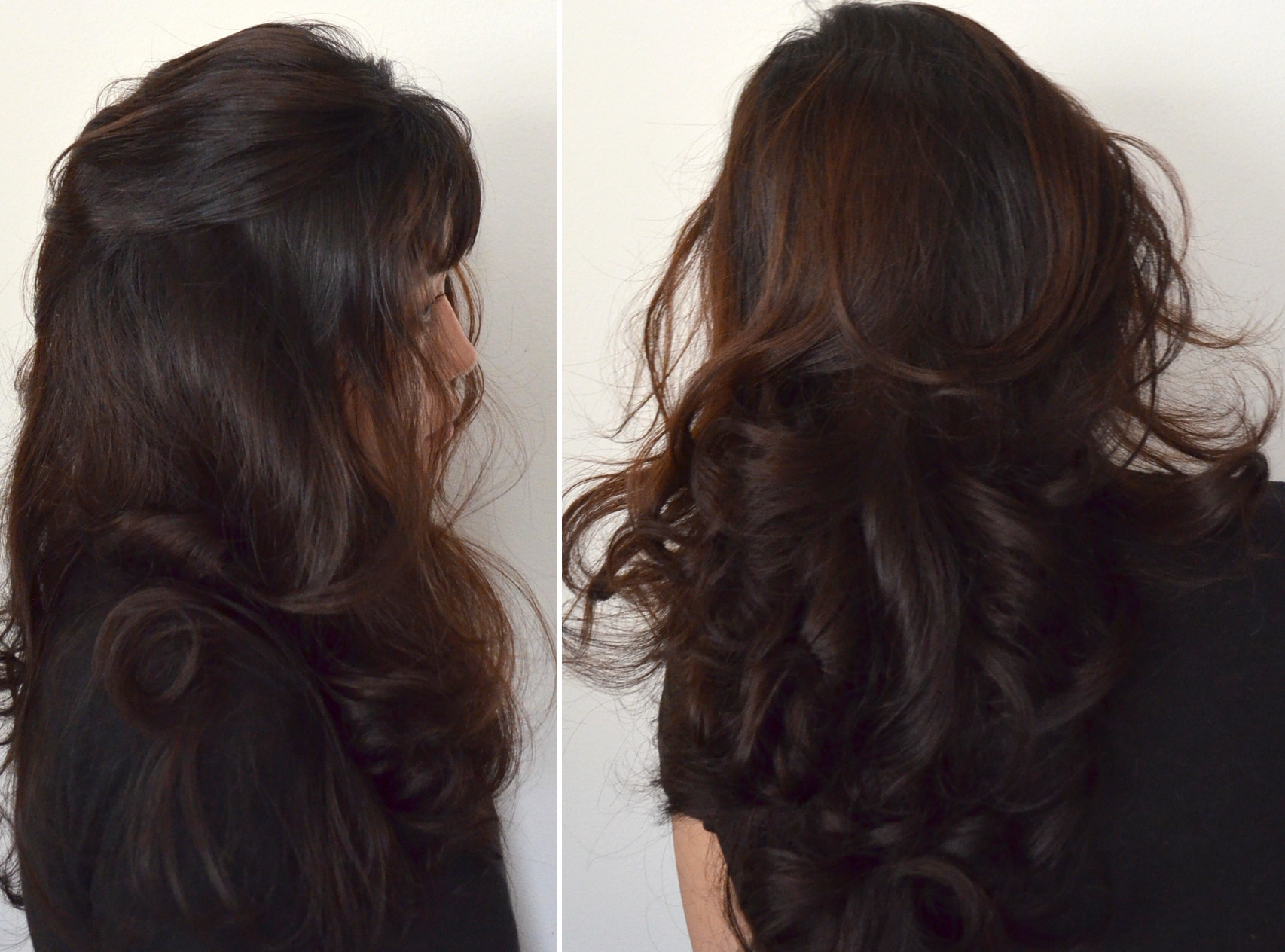 fast easy curling hair results without heat
