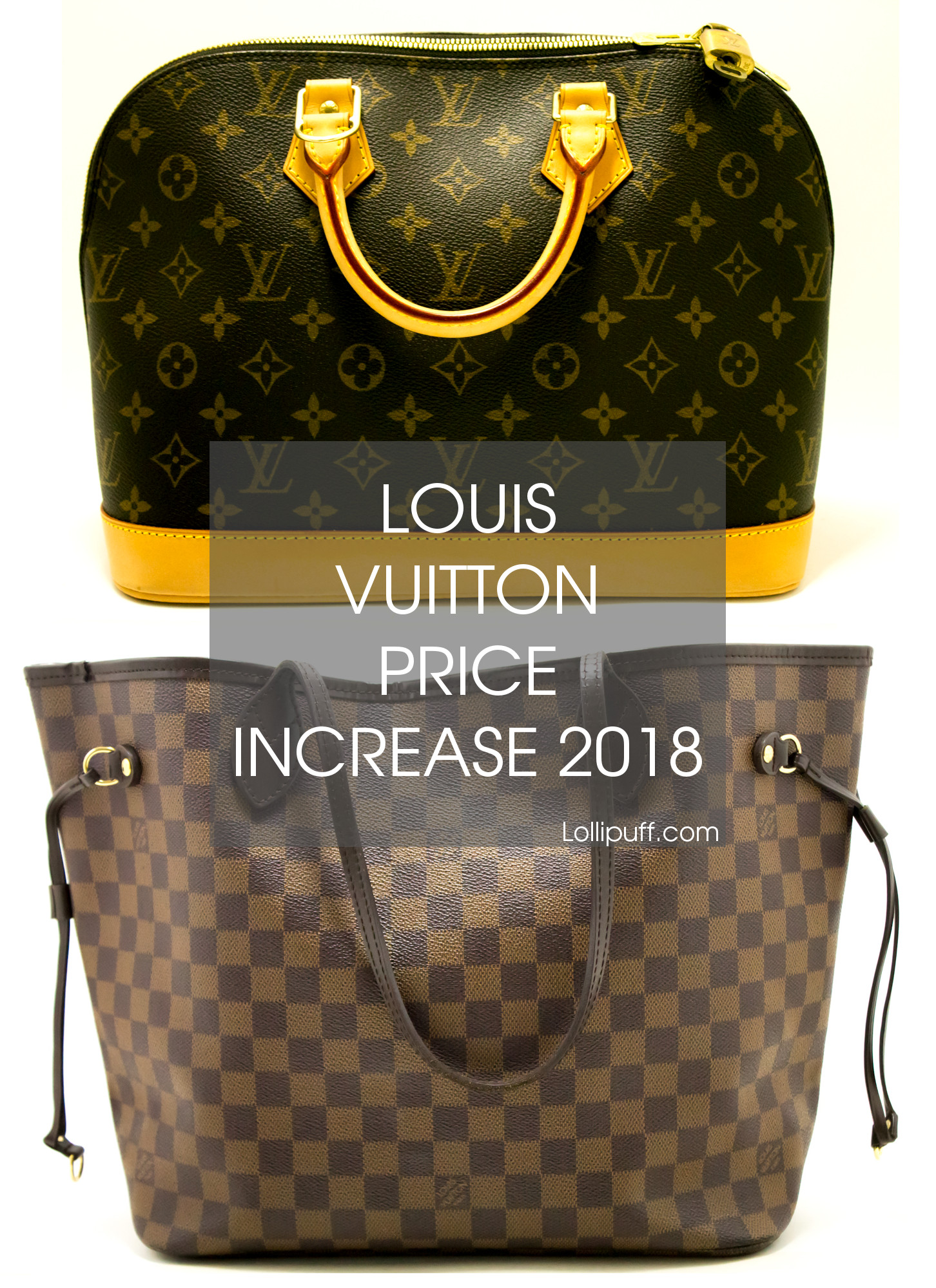 87c14aa5d8f8 Louis Vuitton Handbag Price Increase 2018