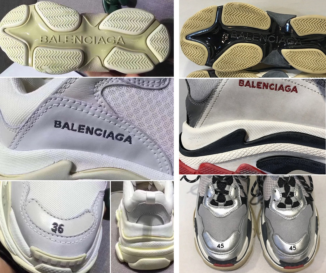 1733b1609ed78 Quiz  Authenticating Balenciaga Sneakers
