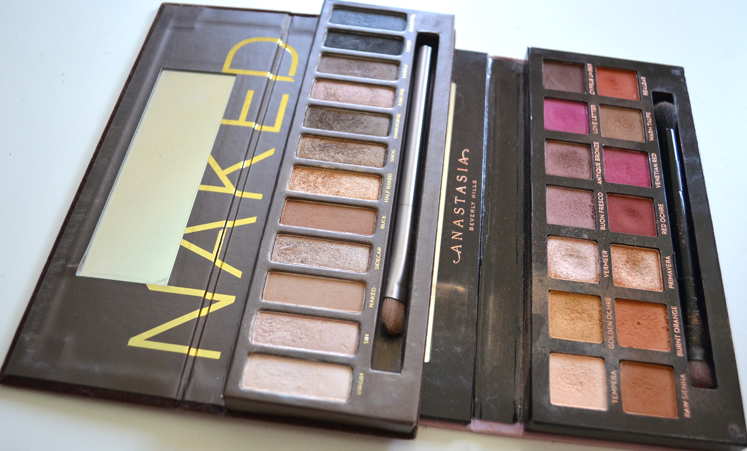 favorite eye shadow palettes