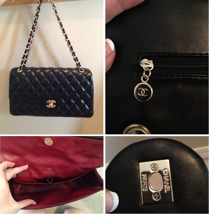 really fake chanel 255 double flap bag