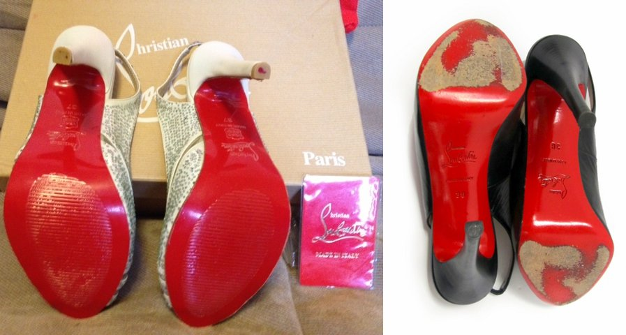 replicas christian louboutin - Authentication Quiz: Can You Spot the Fake? | Lollipuff