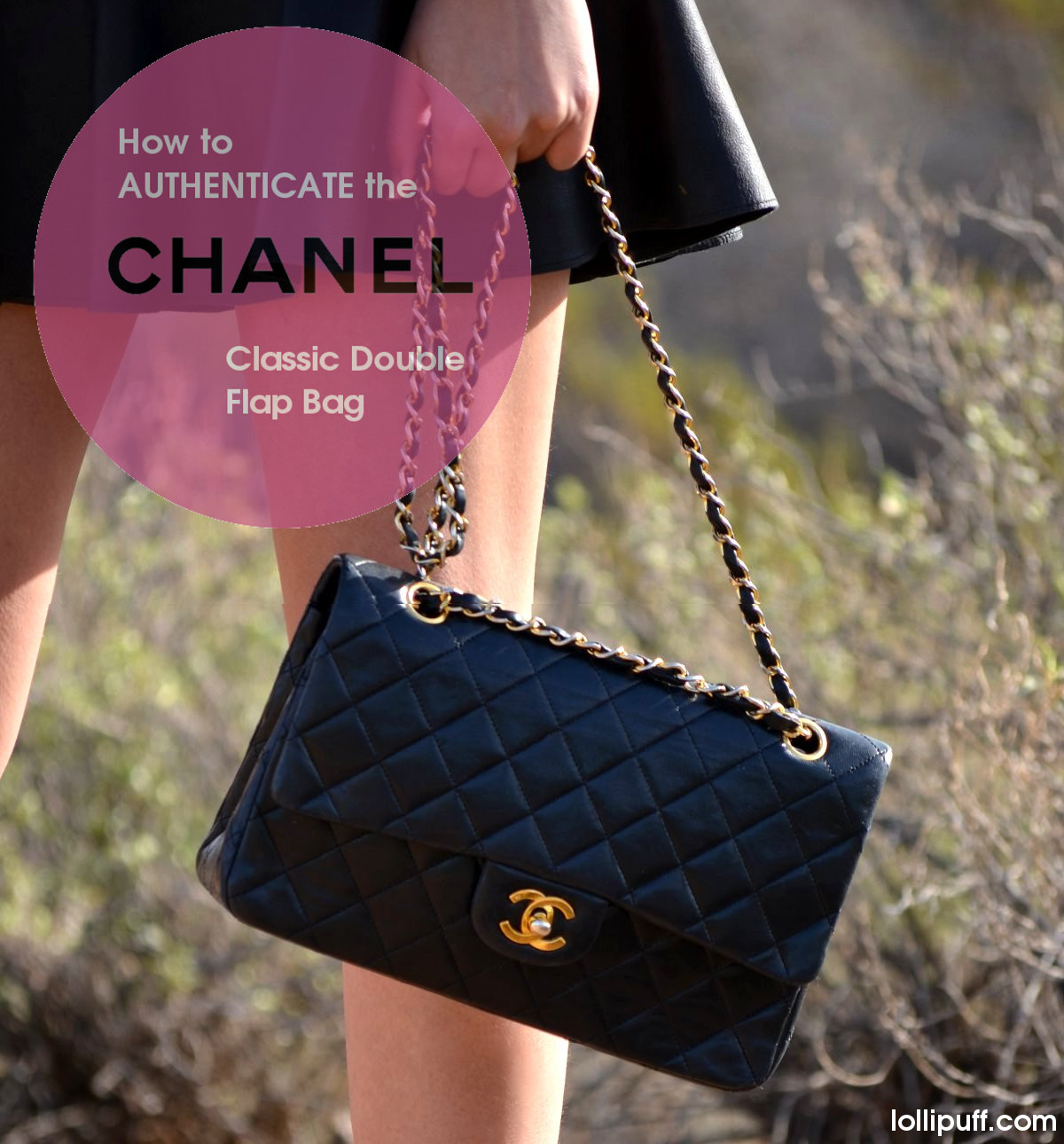 2.55 double flap classic Chanel bag authentication guide