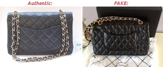 2.55 double flap classic Chanel back quilting
