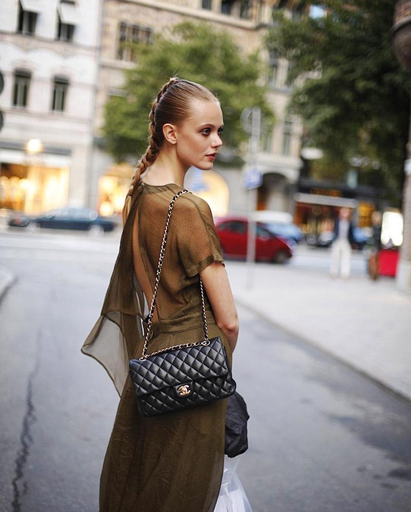 Classic Chanel Medium Flap Bag | eBay