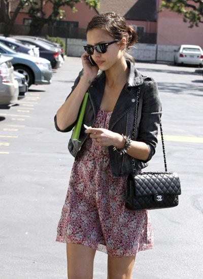 38b7c38c1395 Chanel 2.55 Classic Double Flap Bag Celebrity Pics