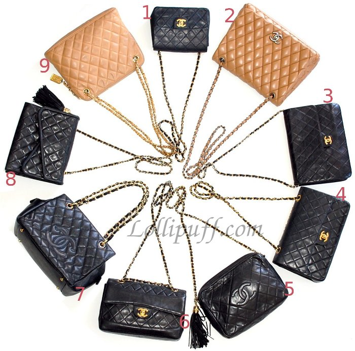 lots of chanel bags