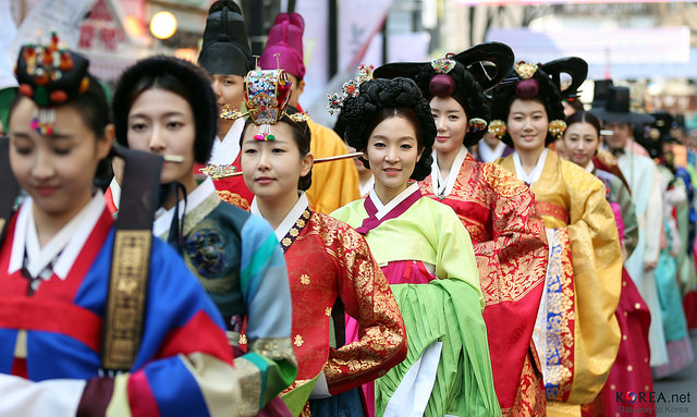 Korean Hanbok Parade