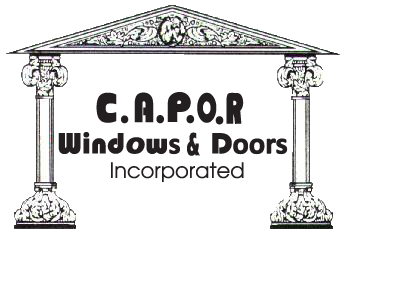 Website for C.A.P.O.R. Windows & Doors Inc.