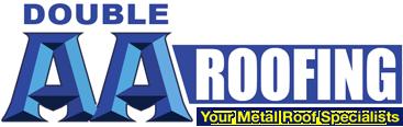 Website for Double AA Metal Roofing Inc.