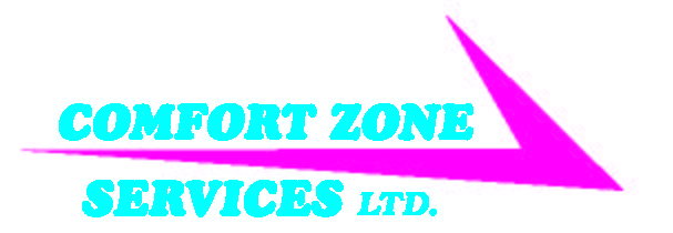 Website for Comfort Zone Services