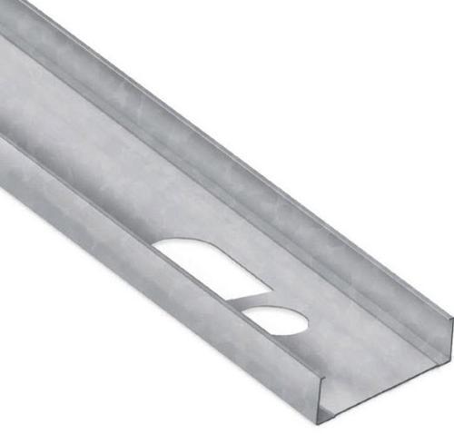 3 5/8 in x 8 ft x 20 Gauge 33 mil Steel Stud w/ 1 1/4 in Flange
