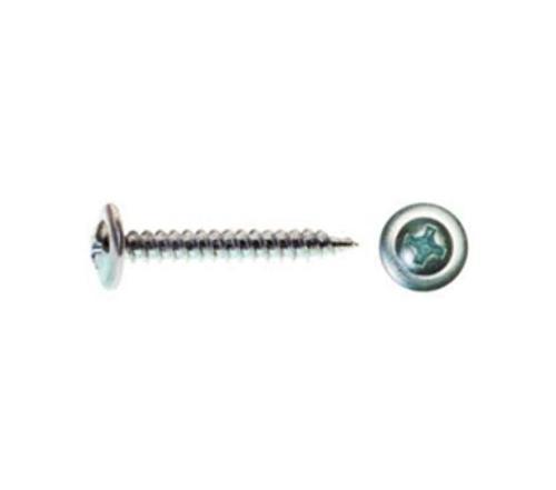2 in x #8 Pro-Twist #2 Phillips Modified Truss Head Zinc Plated Sharp Point Screw