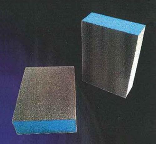 1 in x 2 3/4 in x 3 3/4 in Webb Abrasives Standard Sanding Block - Fine/Medium