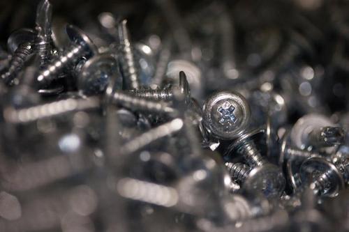 1 5/8 in Modified Truss Head Self Drilling Screw - 1 lb