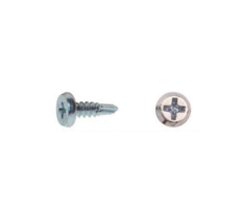 7/16 in x #7 Pro-Twist #2 Phillips Pan Head Zinc Self Drilling Framing Screw - 5 lb