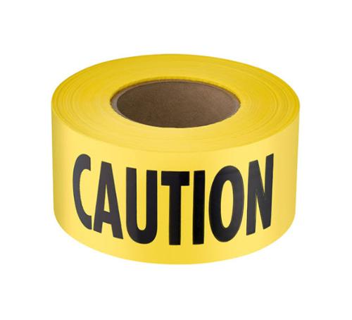 3 in x 1000 ft Empire Level Yellow Caution Tape