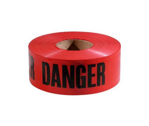3 in x 1000 ft x 2 mil Red Danger Tape