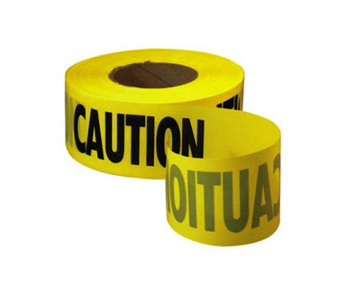 3 in x 1000 ft x 2 mil Yellow Caution Tape