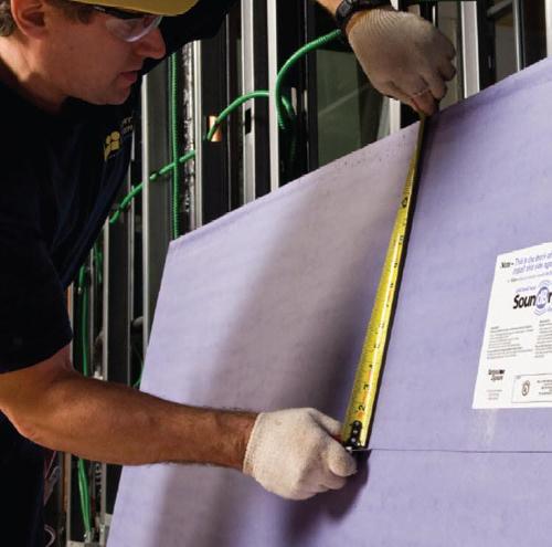 5/8 in x 4 ft x 10 ft National Gypsum Gold Bond SoundBreak XP Gypsum Board