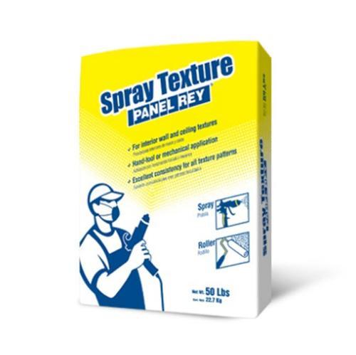 Panel Rey Spray Texture - 50 lb