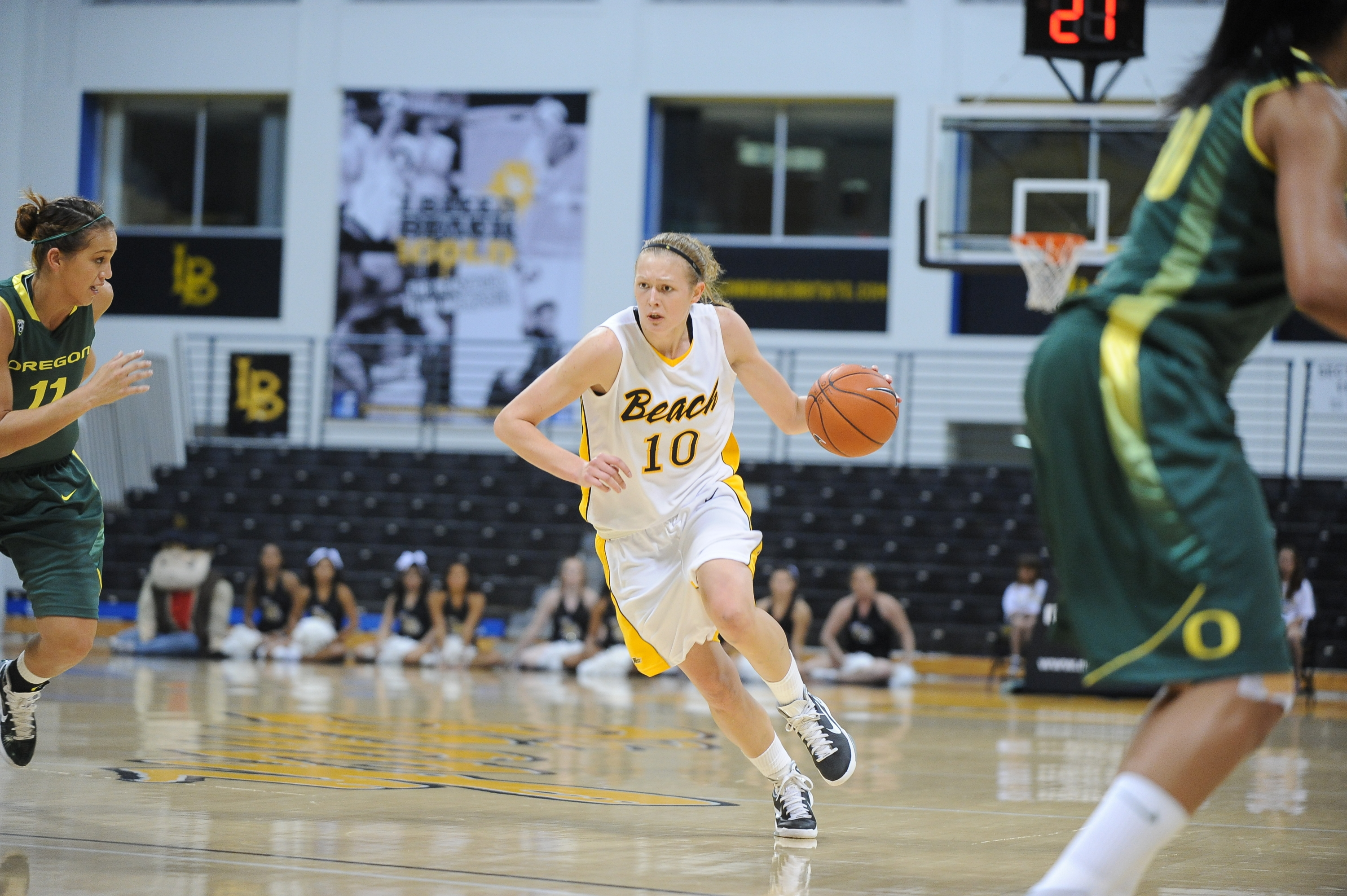 outlet store 64d4a 0dd55 Long Beach State tops Cal State Northridge, 64-50, in Big ...