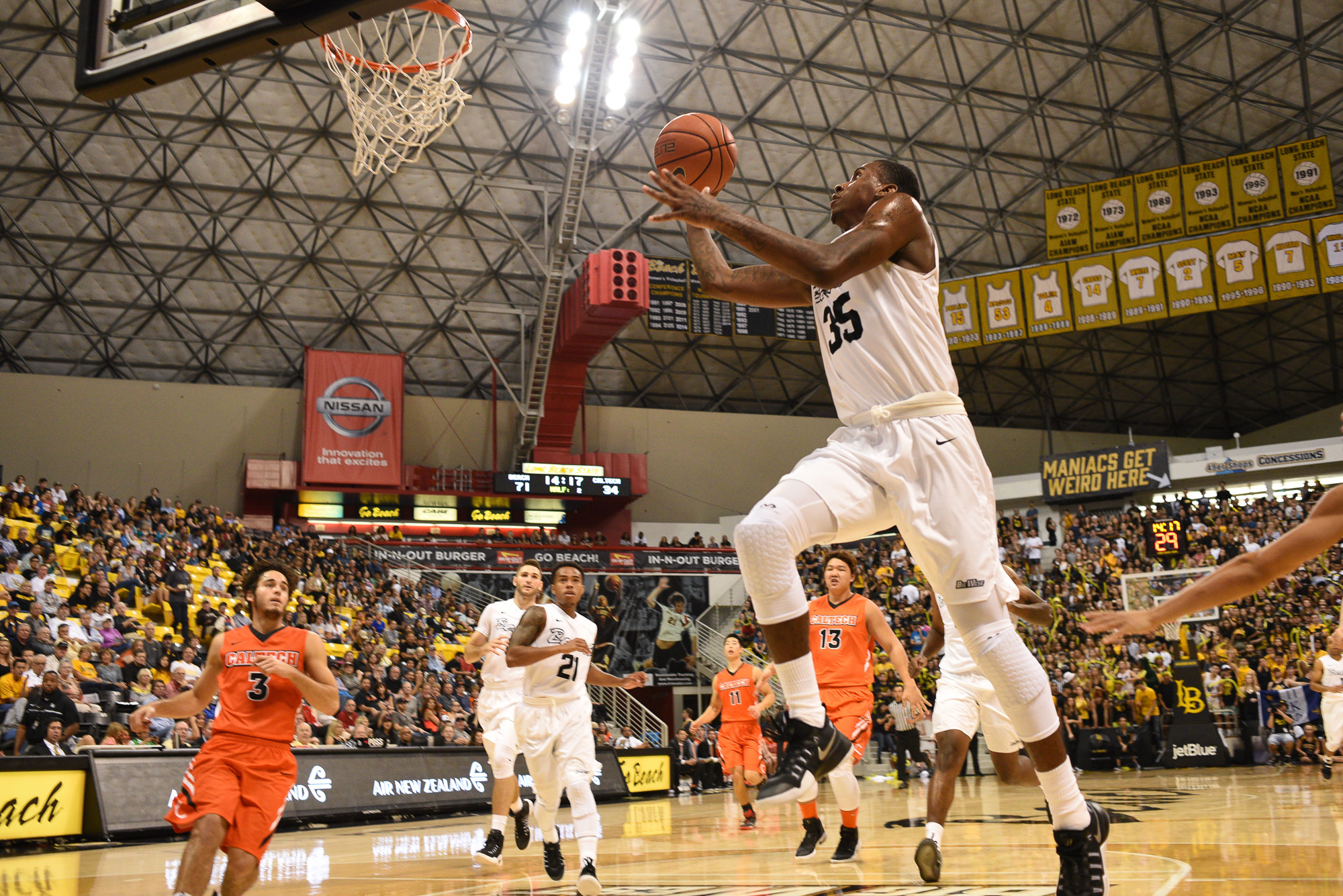 Long Beach State Basketball Hosts Home Opener Friday
