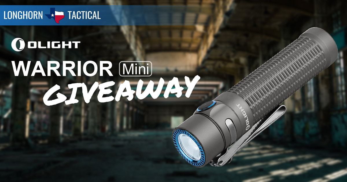 Olight Warrior Mini Giveaway