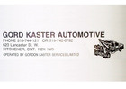 Gord Kaster Automotive
